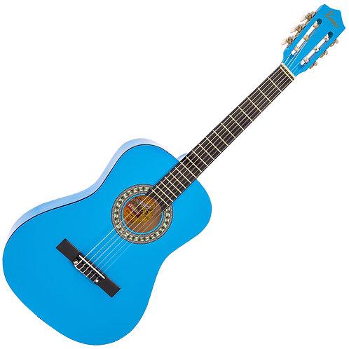 Encore 3/4 Size Classic Guitar Pack ~ Blue