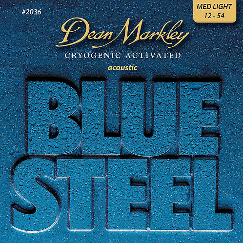 Dean Markley Blue Steel Cryogenic Medium Light 12-54