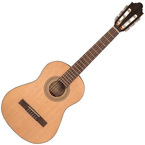 Santos Martinez Principante 1/2 Size Classic Guitar ~ Open Pore, Natural