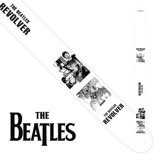 "Perri's The Beatles 2.5"" Guitar Strap ~ Revolver"