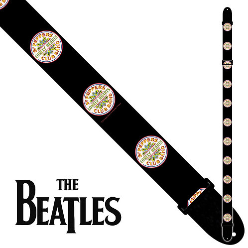 Perri's The Beatles Polyester Guitar Strap - Sgt. Pepper