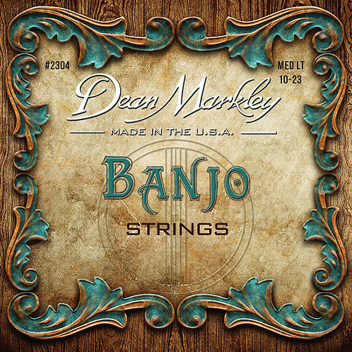 Dean Markley Banjo 5 String Set Medium Light 10-23w