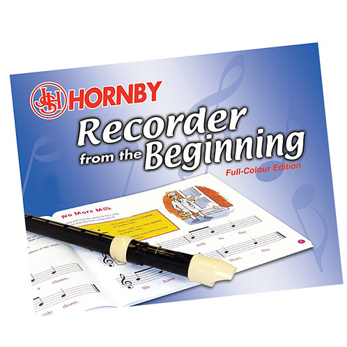 JHS Hornby TU50 Recorder Tutorial Book
