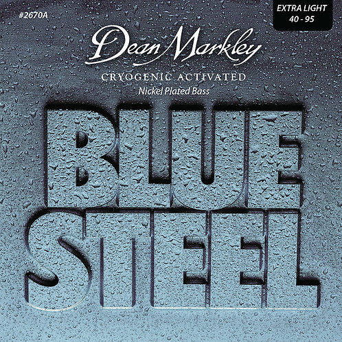 Dean Markley Blue Steel NPS Bass Guitar Strings Extra Light 4 String 40-95