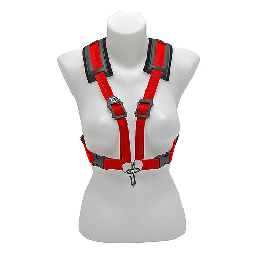BG A T and B Sax Comfort Harness Women XL ~ Red ~ Metal Hook