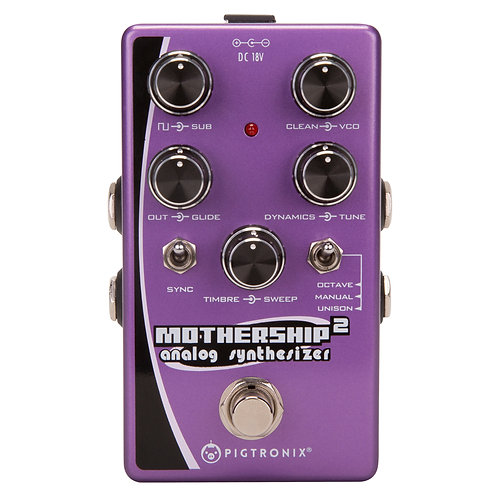 Pigtronix Mothership 2 Analog Synth Pedal