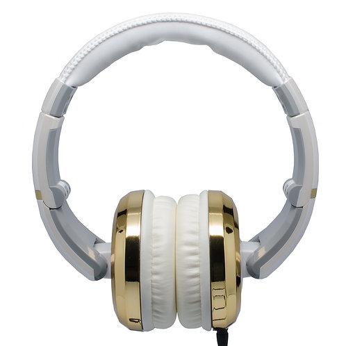 CAD Sessions 510 Studio Headphones ~ White/Gold