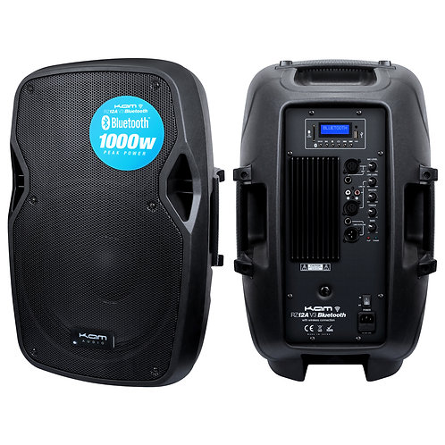 """KAM 12"""" Active Speaker with Bluetooth ~ 1000w"""
