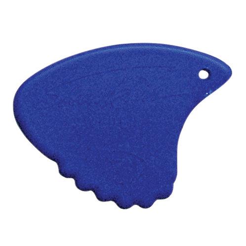 Sharkfin Pick ~ Hard Blue