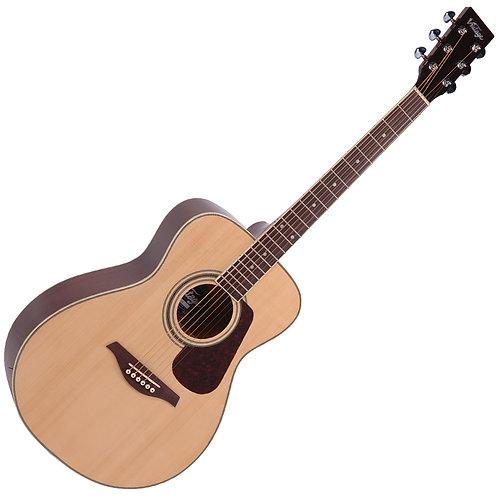 Vintage V300 Acoustic Folk Guitar Outfit ~ Natural
