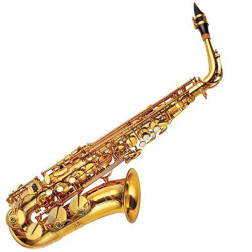 P. Mauriat 185 Alto Saxophone ~ Gold Lacquer