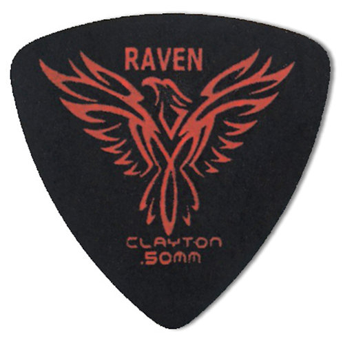 Clayton BLACK RAVEN ROUNDED TRIANGLE .50MM (12 Pack)