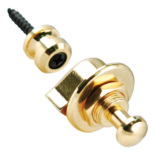 Grover Strap Locks - Gold