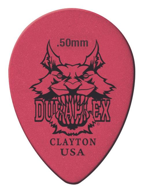 Clayton Duraplex Small Teardrop 0.50mm (12 Pack)