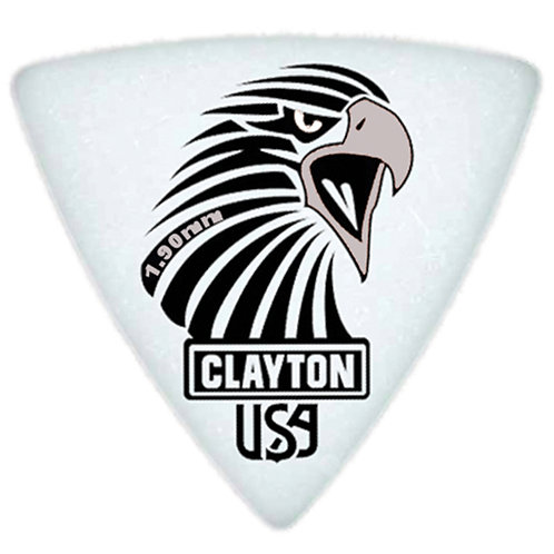 Clayton Acetal Sharp Rounded Triangle 1.90mm (12 Pack)