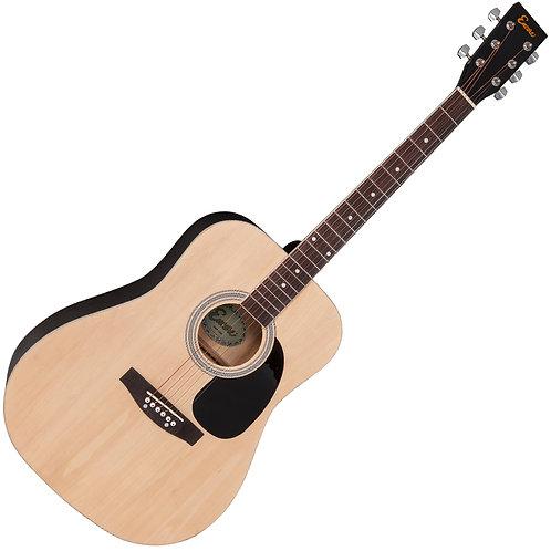 Encore Acoustic Guitar ~ Natural