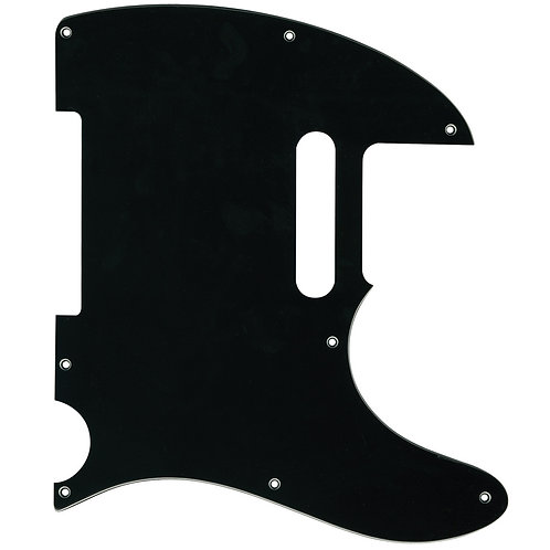 Guitar Tech Scratchplate ~ T-style ~ Black