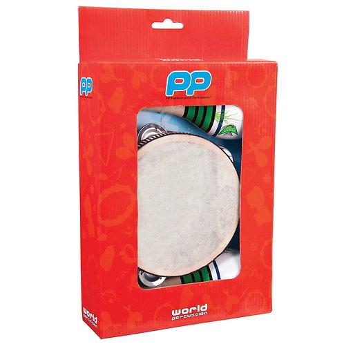 PP World Music Box ~ Maracas & Tambourine ~ 3pc Set
