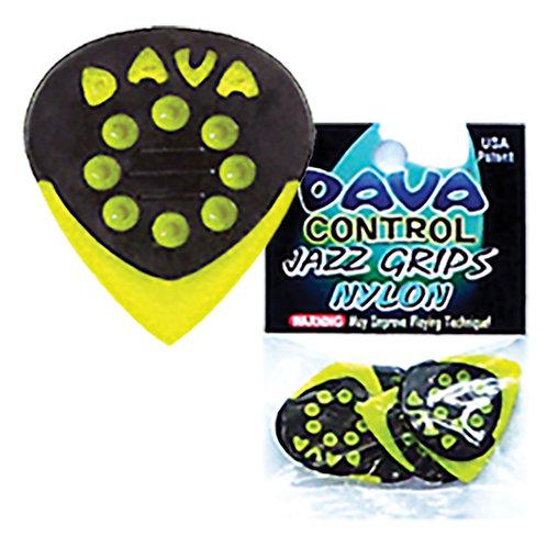 Dava 'Jazz Grip' Nylon Picks � 6 Pack