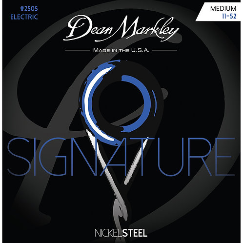 Dean Markley Medium 11-52 NickelSteel Electric Signature Series String Set