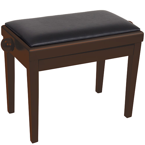 Kinsman Adjustable Piano Bench � Dark Walnut