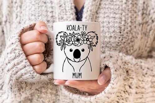 Koala-ty Mum Mug