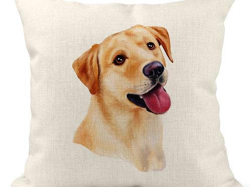 Watercolour Labrador Cushion