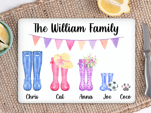 Wellington Boot chopping board
