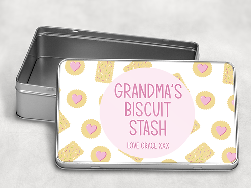 Grandma's Biscuit Tin