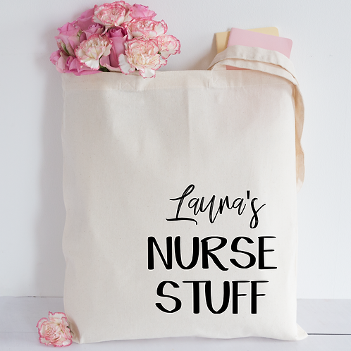 Nurse stuff Tote Bag