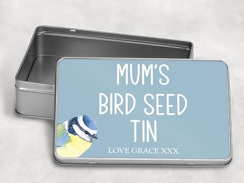 Bird Seed Tin