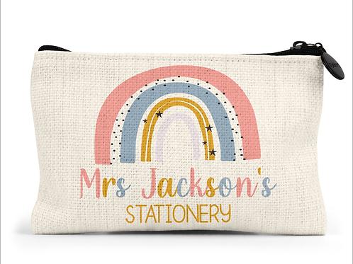 Personalised Rainbow Pencil Case