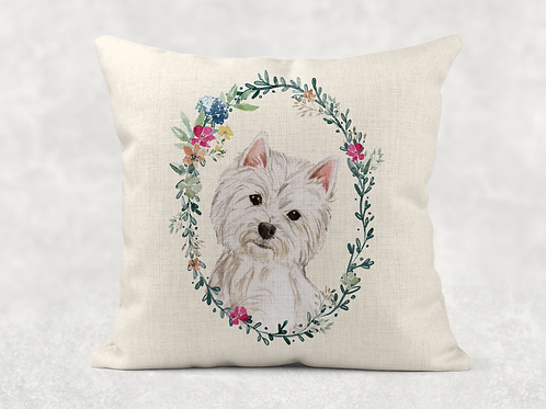 Floral dog Cushion