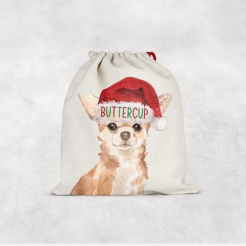 Chihuahua Christmas Sack