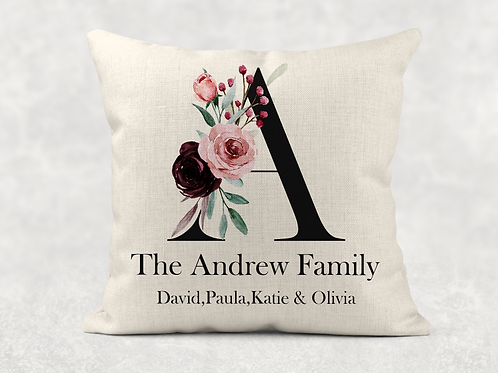 Floral Family Cushion