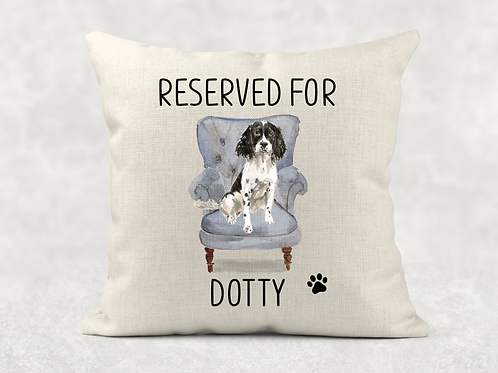 Springer Spaniel Cushion