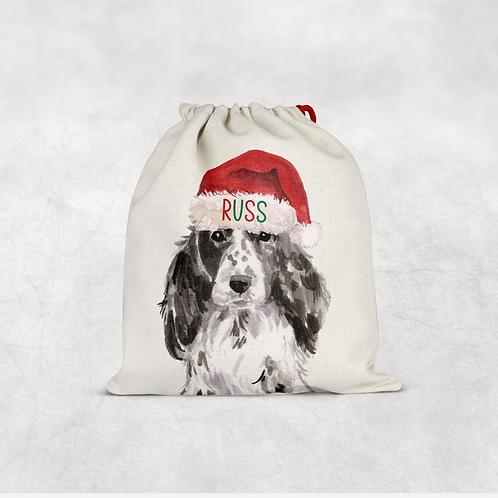 Spaniel Christmas Sack