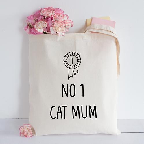 Cat mum Tote Bag