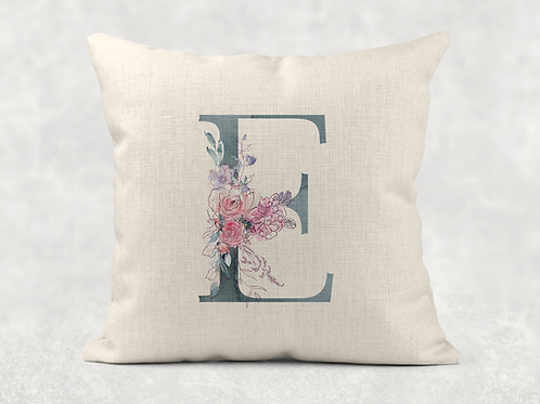 Duck Egg Initial Cushion