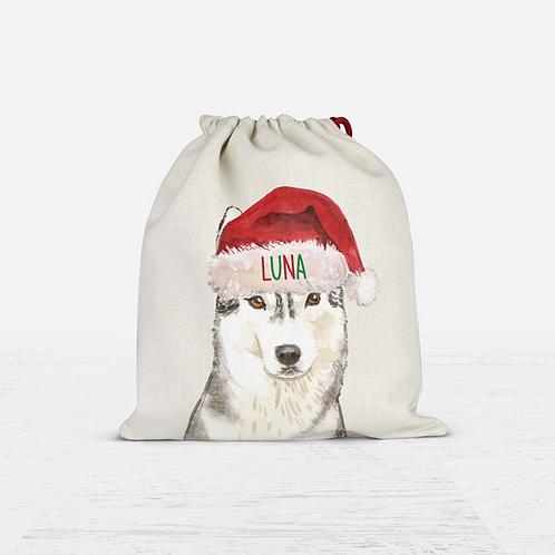 Husky Christmas Sack