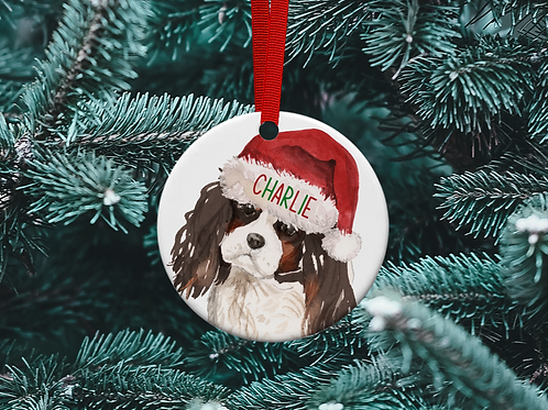 King Charles Christmas Tree Ornament