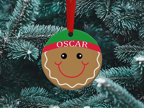 Gingerbread Man Tree Ornament