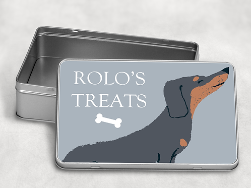 Dachshund Treat Tin