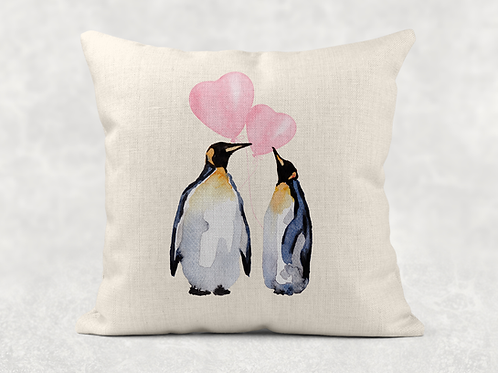 Adorable Penguins Cushion