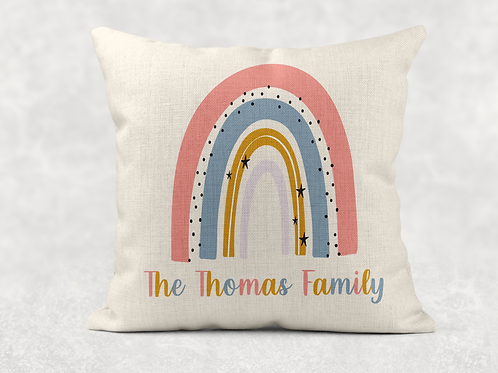 Rainbow Family Cushion