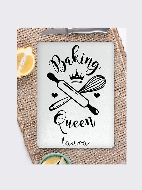 Baking Queen chopping board