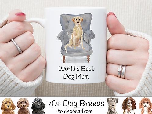 World's Best Dog Mum Mug