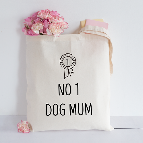 Dog mum Tote Bag