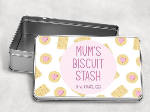 Mum's Biscuit Tin