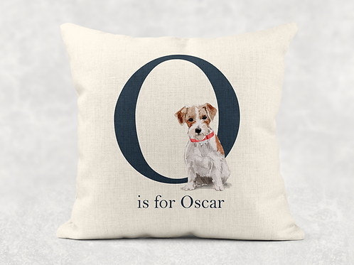 Dog name Cushion